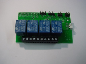 The Raspberry Relay board